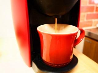 自宅用本格コーヒーマシンの画像