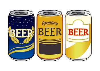 LINE友だち追加でビール無料 ゲットしたイメージ画像