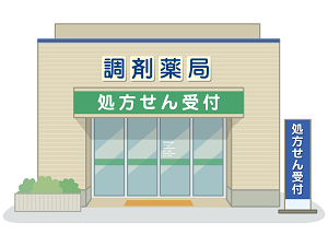 調剤薬局の画像