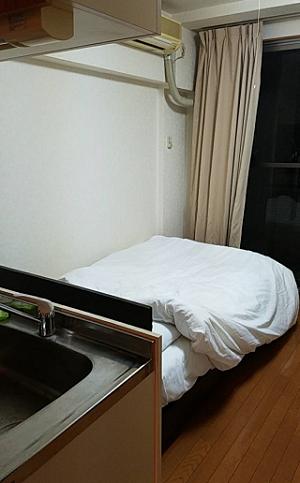 ウィークリーマンションのベッド画像