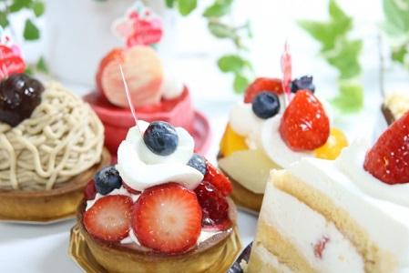 イーパークスイーツで食べられるケーキの画像