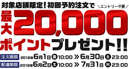 楽天デリバリー2万円キャッシュバックのキャンペーン画像