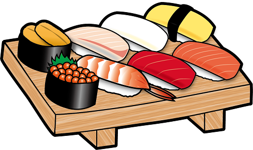 握り寿司の画像