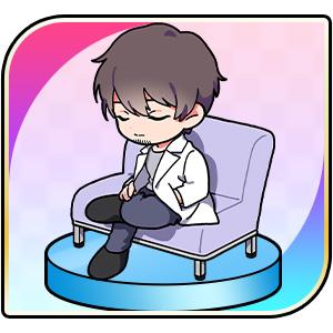 佐々木淳平おやすみミニキャラの画像