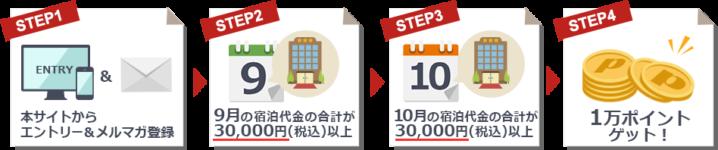 dポイント1万円分ゲットまでの流れ