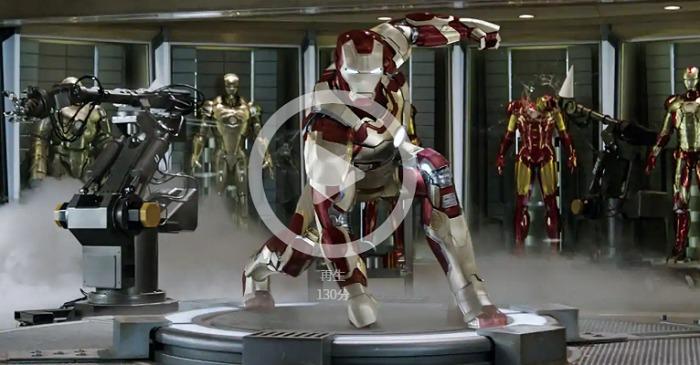 ファンビンビンが見れるかもしれないアイアンマン3の視聴ページへ