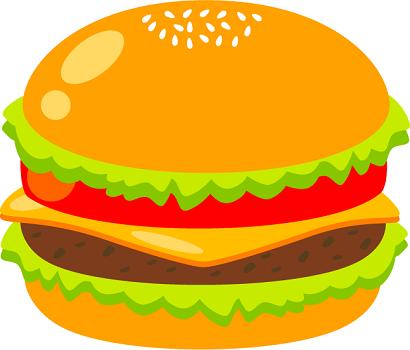 ハンバーガーの画像