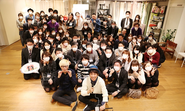 ロンドンブーツ1号2号の田村淳さんの運営するお見合いイベント『マスクdeお見合い』とヲタ婚のコラボお見合い企画イベント開催時の画像