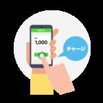 LINE Pay残高に初めて銀行から2000円以上チャージ