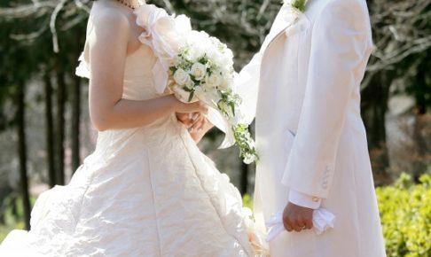 芸能人の結婚画像