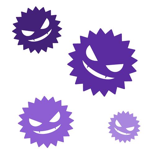 インフルエンザウイルスの画像