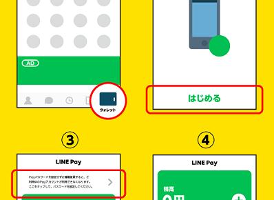 LINE Payクーポンの使い方